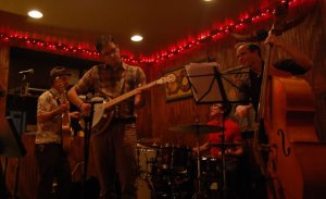 Matt Gandurski (Guitar and Vocals) Jeffrey Parker (Upright Bass) Tom McGettrick (Banjo) Evan Bivins (Drums/ Percussion)