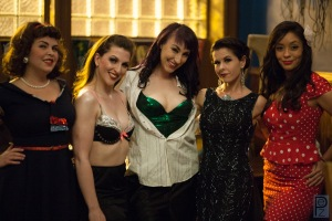 Millie May, Marie Curieosity, Stella Cheeks, Myself, and Vivi Valens